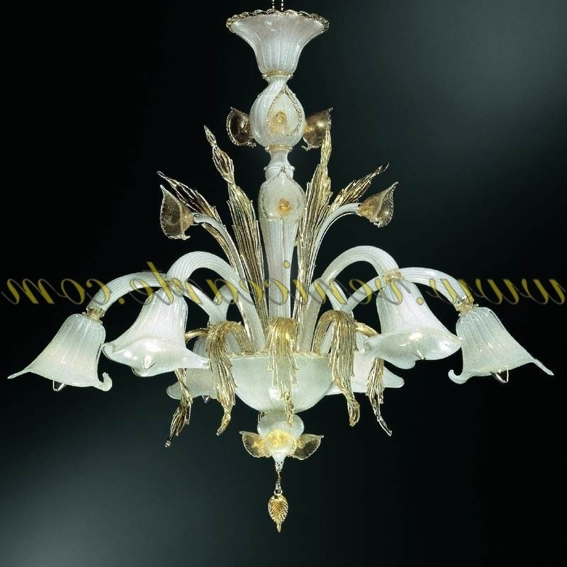 Murano Chandelier Throughout Trendy Aqua – Murano Glass Chandelier (View 9 of 10)