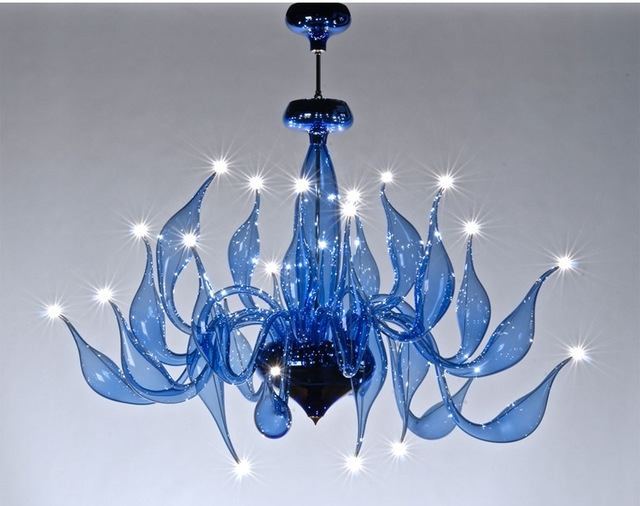 Murano Chandelier With Regard To Well Known Italy Swan Chandelier Modern Murano Chandeliers Creative Art Glass (View 7 of 10)