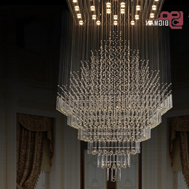 New High Quality Large Modern Chandeliers Crystal Lamp Pendant With Regard To Preferred Large Modern Chandeliers (View 9 of 10)