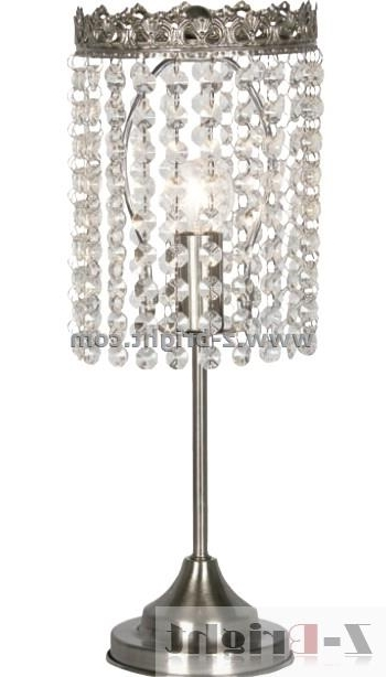 Newest Attractive Chandelier Table Lamp Cute Within Lamps Design 14 Inside Small Chandelier Table Lamps (View 3 of 10)