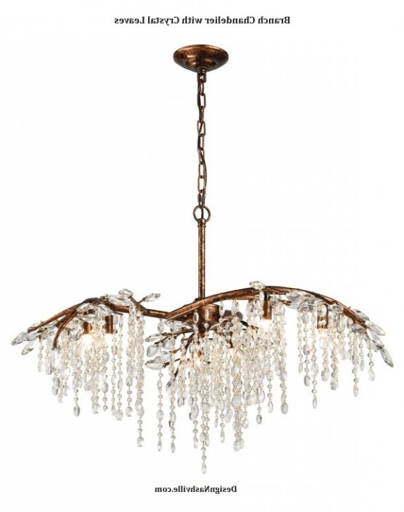 Newest Branch Crystal Chandelier Regarding Found It At Joss & Main – Ellis Crystal Chandelier ( Branch Crystal (View 9 of 10)