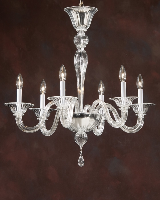 Newest Home Design : Elegant Italian Glass Chandeliers Chandelier Ideas Inside Simple Glass Chandelier (View 7 of 10)