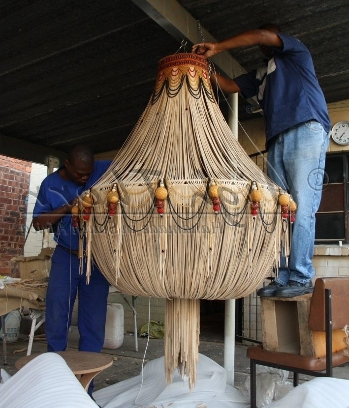 Newest Leather Chandeliers Intended For High Thorn – Inspirations – Handmade In South Africa – Lighting (View 8 of 10)