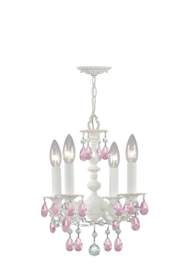 Newest Small White Chandeliers Throughout Archive With Tag: White Gypsy Chandelier Small (View 10 of 10)
