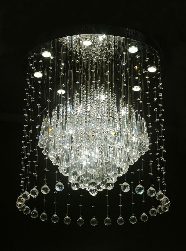 Newest Sparkly Chandeliers Inside 194 Best Crystal Chandeliers Images On Pinterest (View 6 of 10)