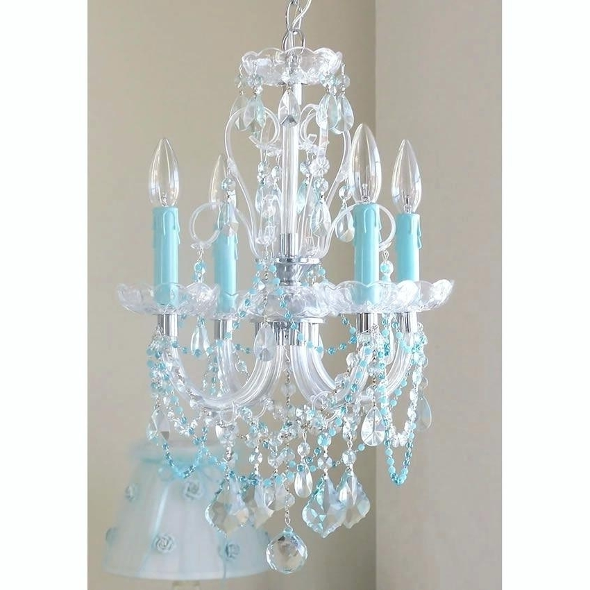 Newest Turquoise Crystal Chandelier Lights For Turquoise Chandelier Light Plus Blue Crystal Chandelier How To Make (Gallery 7 of 10)