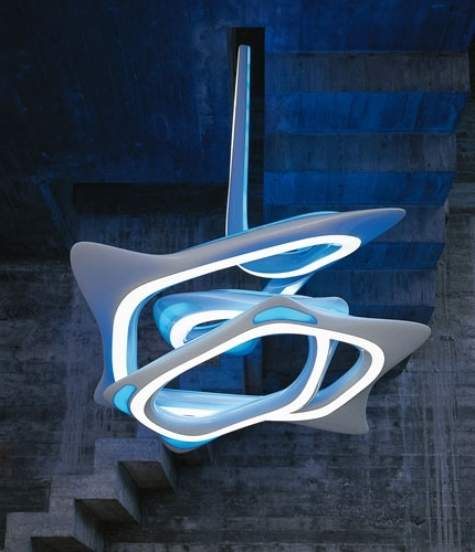 Newest Ultra Modern Chandelier With Regard To Ultra Modern Light Fitting. #lights Www.propertyrepublic (View 4 of 10)