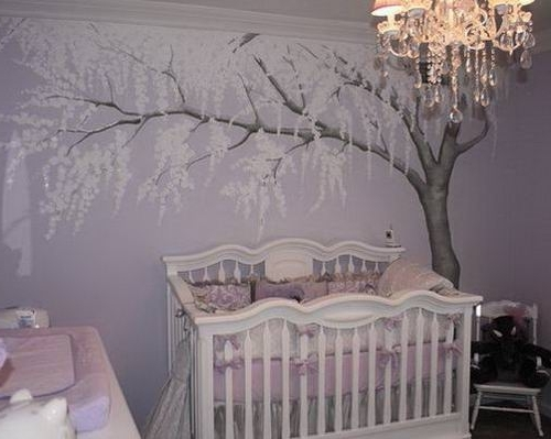 Nice Chandelier For Baby Room 12 Ba With Nursery Decor Arm Chair Within Widely Used Crystal Chandeliers For Baby Girl Room (View 8 of 10)