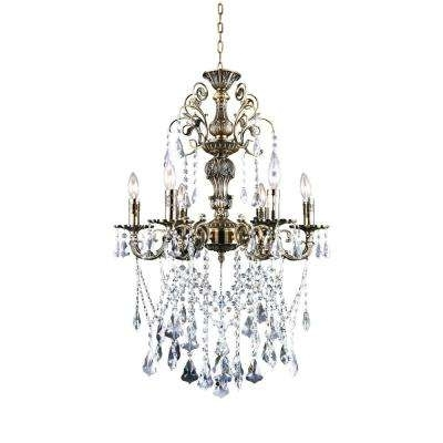 No Additional Accessories – Crystal – Chandeliers – Lighting – The With Regard To Fashionable Chandelier Accessories (View 9 of 10)