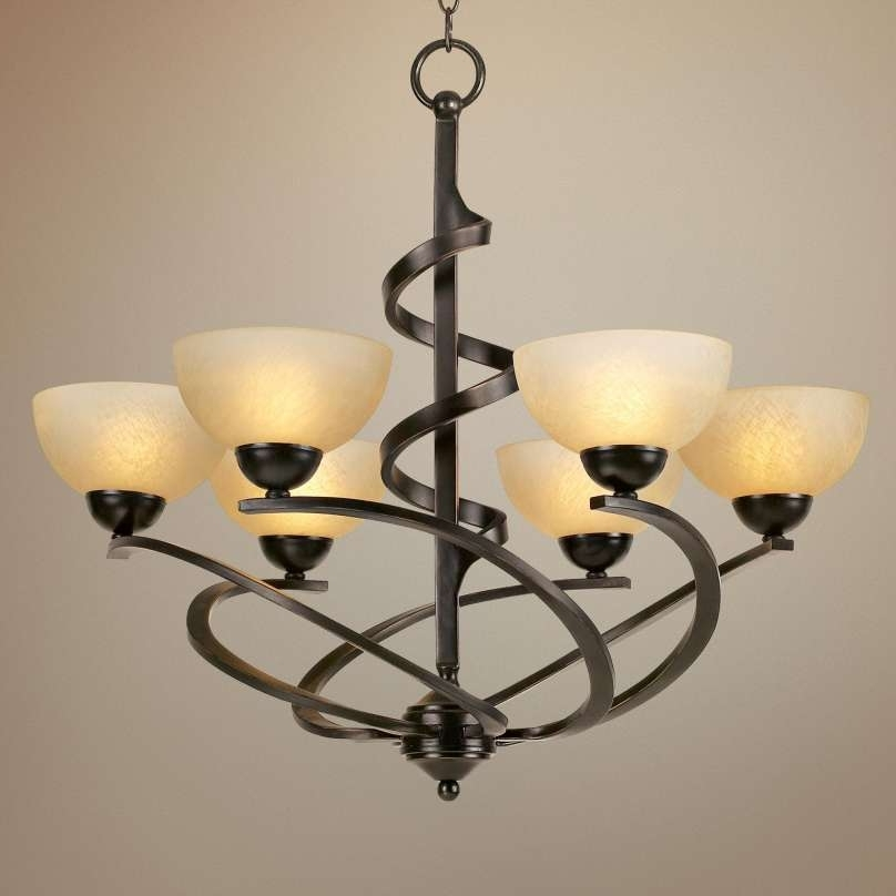 Oil Rubbed Bronze Chandelier Lighting Images (View 6 of 10)