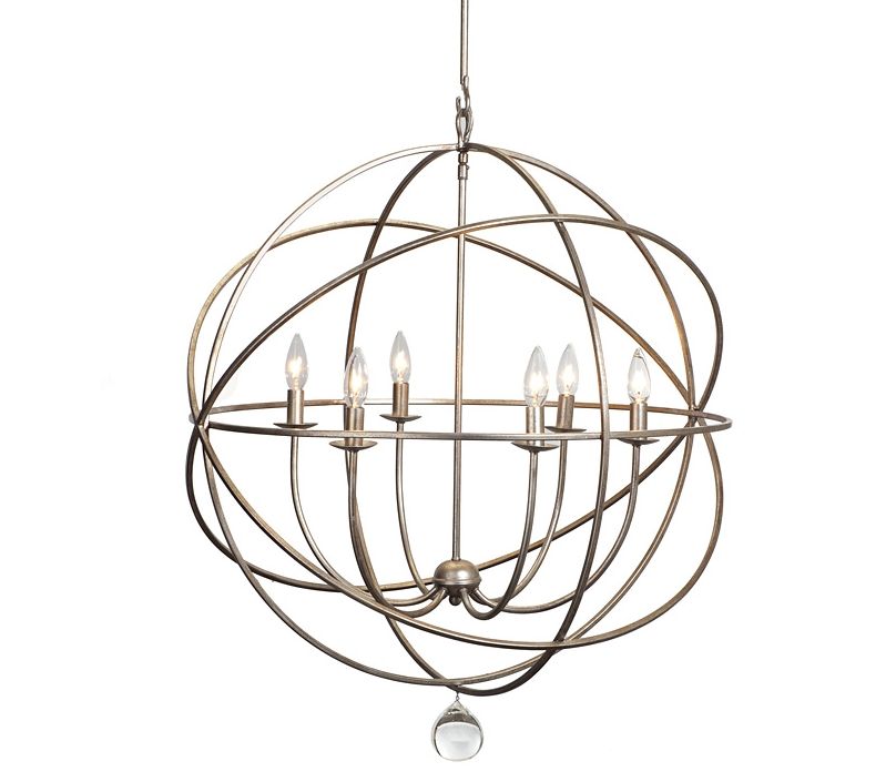 Orb Chandeliers Inside Most Recent Chandelier Astonishing Iron Orb Ideas Enchanting Intended For Modern (View 7 of 10)