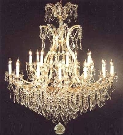 Ornate Chandeliers Lets Ornate Crystal Chandeliers – Pinkfolio Within Well Known Ornate Chandeliers (View 3 of 10)