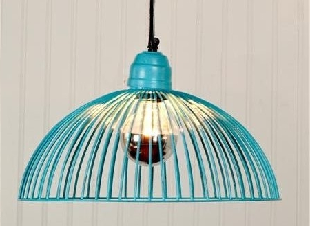Pendant Lighting Ideas Top Turquoise Light Shade Incredible For 1 Intended For Widely Used Turquoise Pendant Chandeliers (View 6 of 10)
