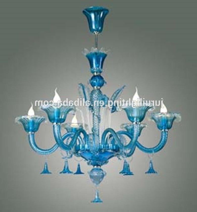 Pink Murano Glass Chandelier, Pink Murano Glass Chandelier Suppliers Pertaining To Well Known Turquoise Blown Glass Chandeliers (Gallery 3 of 10)