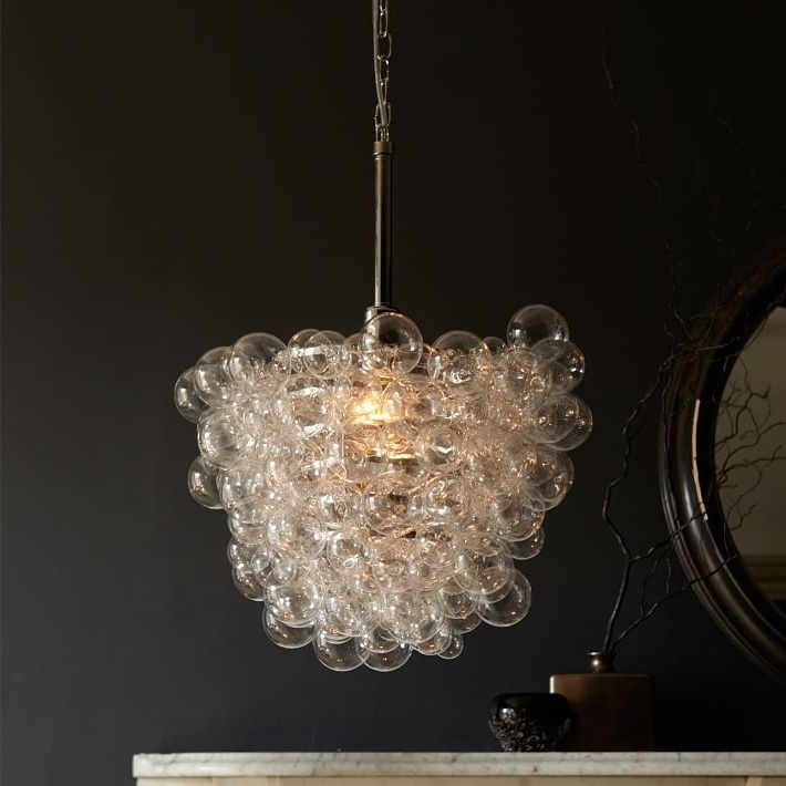 Featured Photo of Glass Droplet Chandelier