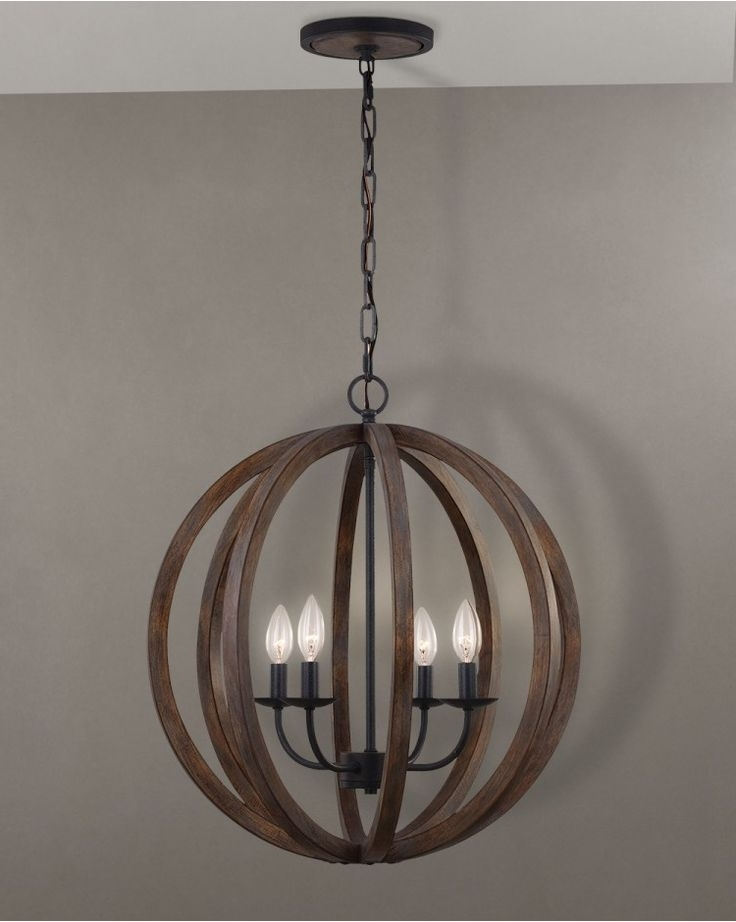 Pinterest Inside Most Current Wooden Chandeliers (View 6 of 10)