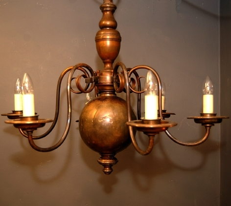 Poppy Greens Home – Large Flemish Brass Chandelier In Most Current Flemish Brass Chandeliers (View 5 of 10)