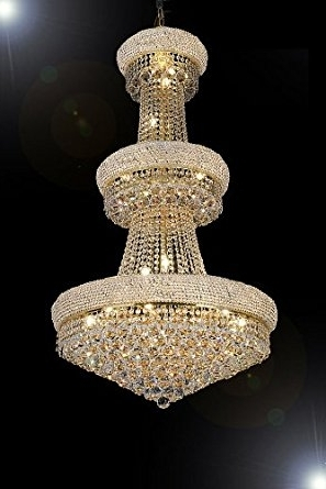 "Popular French Empire Crystal Chandelier Chandeliers H50"" X W30"" – Perfect In French Crystal Chandeliers (View 10 of 10)"