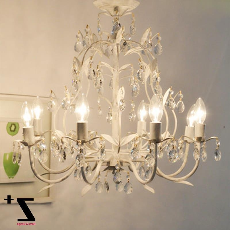 Popular French Style Chandelier Within French Country Style Vintage K9 Crystal Rococo Palais Chandelier (View 7 of 10)