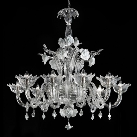 "Popular Glass Chandelier Within Artico"" Murano Glass Chandelier – Murano Glass Chandeliers (View 6 of 10)"