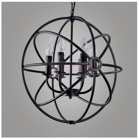Popular Orb Chandelier With Regard To Rh Foucault's Orb Chandelier Designrestoration Hardware – A (View 7 of 10)