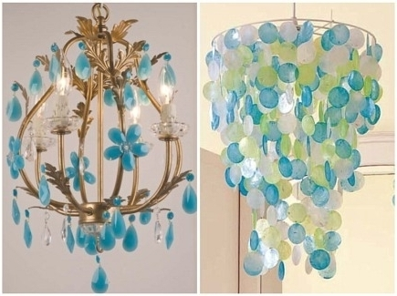 Popular Turquoise Chandelier Lights With Turquoise Chandelier Light Beads Six Light Cheap Crystal – Kisa (View 5 of 10)