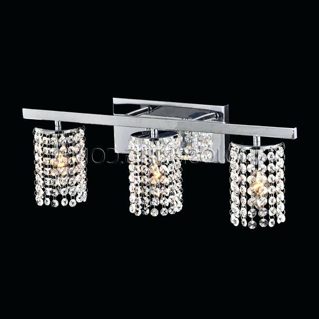 Popular Wall Mounted Bathroom Chandeliers In Home Design : Gorgeous Wall Mounted Chandelier Lighting Designs (View 6 of 10)