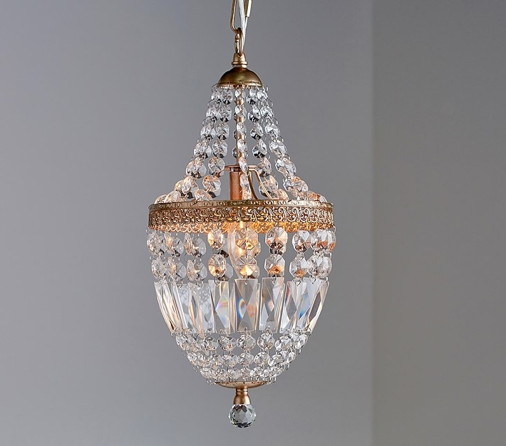 Featured Photo of Mini Crystal Chandeliers