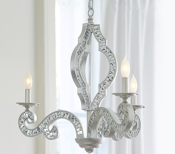 Pottery Barn Kids Throughout Best And Newest Mirror Chandelier (View 1 of 10)