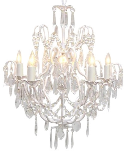 Preferred Beautiful Traditional Crystal Chandeliers The Gallery Wrought Iron With White Chandeliers (View 5 of 10)