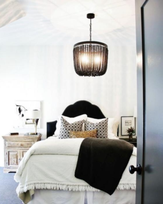 Preferred Black Chandelier Bedroom Within Black Chandelier Bedroom – House Designs Photos (View 8 of 10)