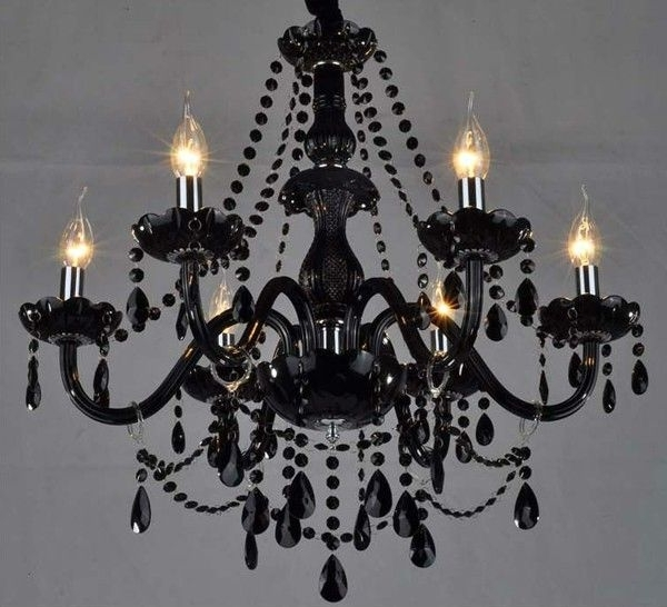Preferred Black Chandeliers Inside 21 Best Chandeliers Images On Pinterest (View 7 of 10)