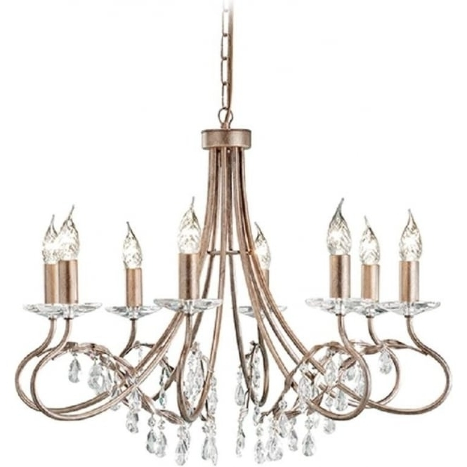 Preferred Edwardian Chandelier Within 8 Light Edwardian Chandelier With Crystal, Dual Mount Facility (View 8 of 10)