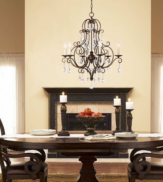 Preferred Feiss Chandeliers Pertaining To Chandelier: Inspiring Murray Feiss Chandeliers Kichler Lighting (View 9 of 10)