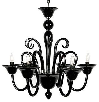 Preferred Home Design : Delightful Modern Black Chandelier 41Hxrfju32L Sl500 Inside Modern Black Chandelier (View 8 of 10)