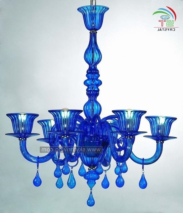 Preferred Turquoise Blue Glass Chandeliers With Regard To Blue Murano Glass Chandeliers Blue Murano Glass Chandeliers With (View 6 of 10)