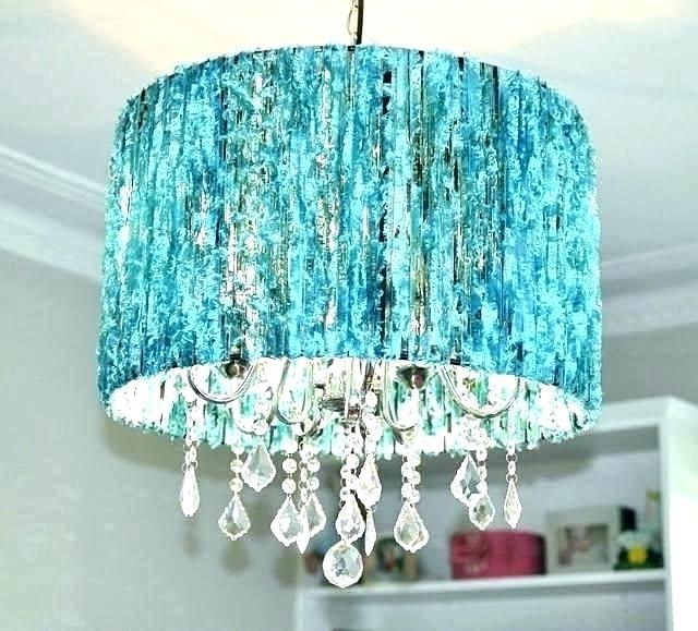 Preferred Turquoise Chandelier Lamp Shades With Regard To Small Black Chandelier Shades – Lunex (Gallery 9 of 10)