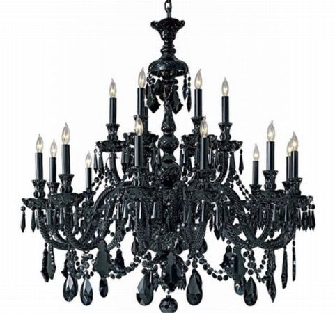 Preferred Vintage Black Chandelier In Renew Vintage Black Chandelier (View 5 of 10)