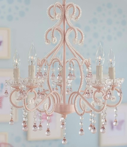 Pretty Girl's Room Chandelier (View 10 of 10)
