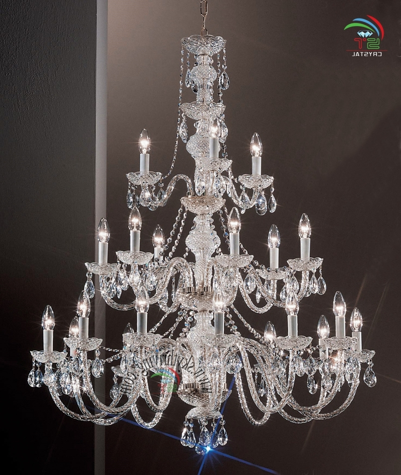 Recent 3 Tiered Crystal Chandelier Wholesale, Crystal Chandelier Suppliers Intended For 3 Tier Crystal Chandelier (View 7 of 10)