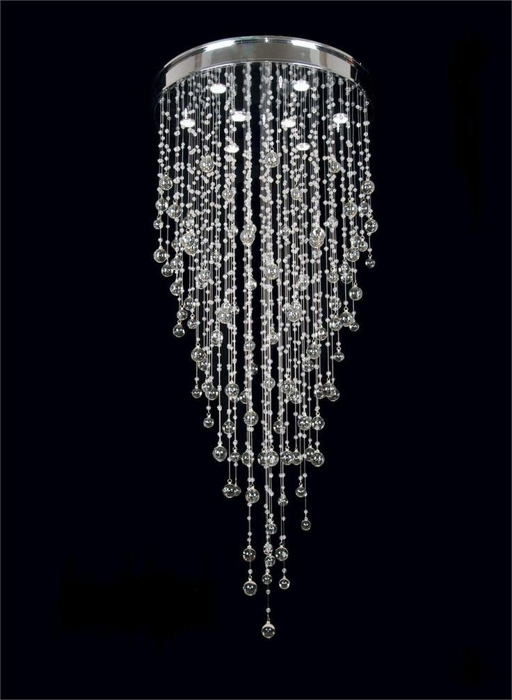 Recent Cheap Faux Crystal Chandeliers Intended For Cool Contemporary Crystal Chandelier , Good Contemporary Crystal (View 10 of 10)