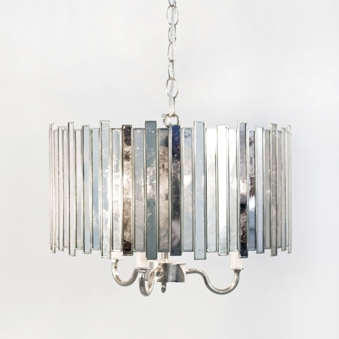 Recent Mirrored Chandelier (View 6 of 10)