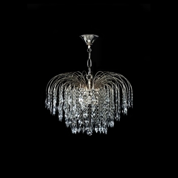 Recent Swarovski Crystal Waterfall Chandelier In Chrome (View 3 of 10)