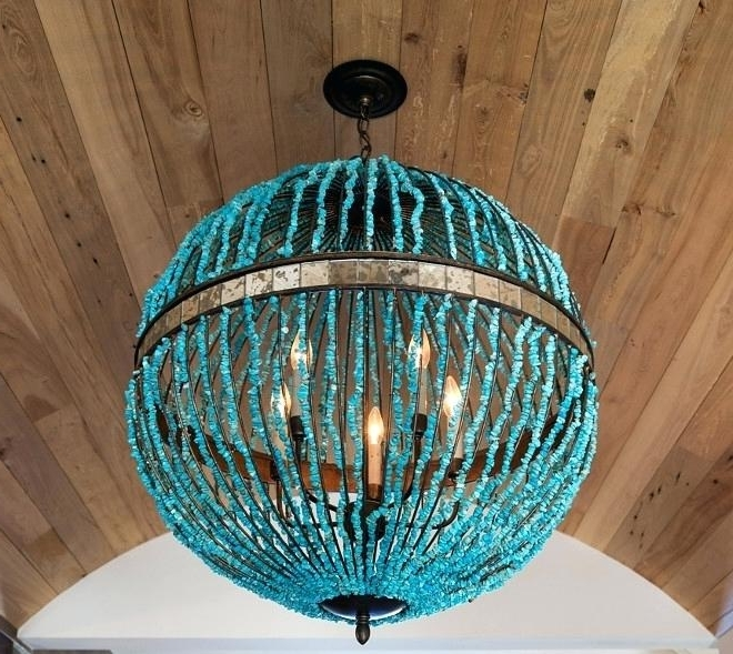 Recent Turquoise Orb Chandeliers With Alberto Orb Chandelier Category Bathroom Design Home Bunch Interior (View 4 of 10)