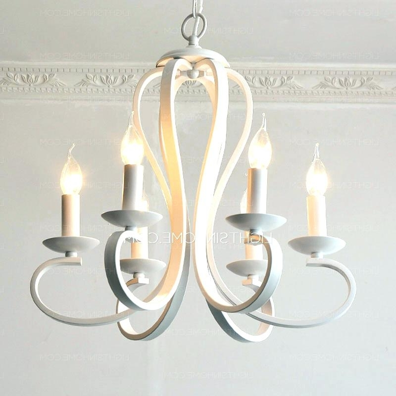 Recent White Drum Chandelier – Ipbworks Throughout White Contemporary Chandelier (View 9 of 10)