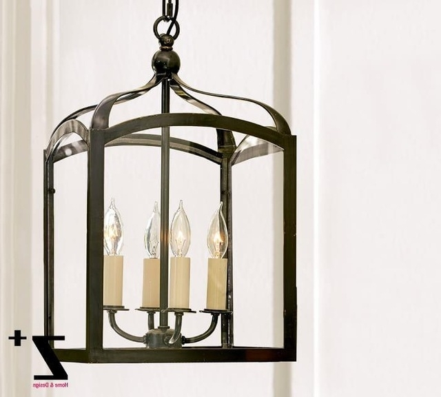 Replica Item Led Pendant Light Iron Gothic Indoor Outdoor Lantern With Regard To Most Recent Indoor Lantern Chandelier (View 8 of 10)