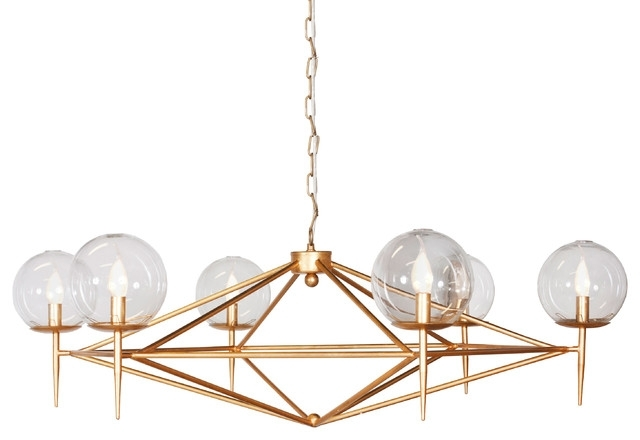 Retro Chandeliers Within Fashionable Gold Chandelier – Greatby (View 7 of 10)