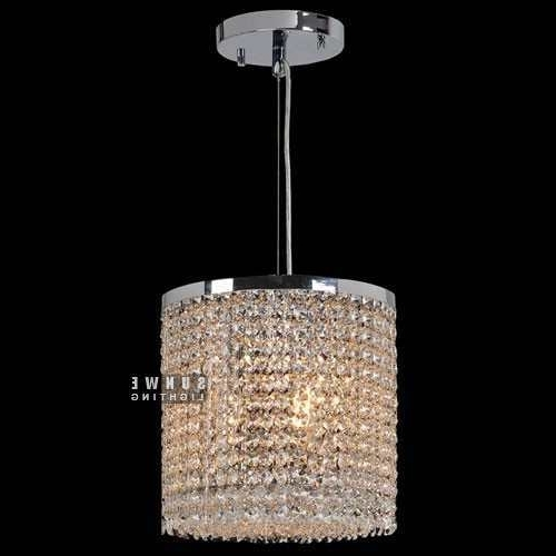 Round Metal Chandelier ,crystal Chandelier Mini , Small Modern Pertaining To Widely Used Modern Small Chandeliers (View 2 of 10)
