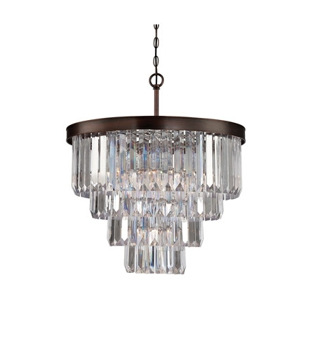 Savoy House Chandeliers For Most Popular Savoy House 1 9800 6 28 Tierney 6 Light 25 Inch Burnished Bronze (View 6 of 10)