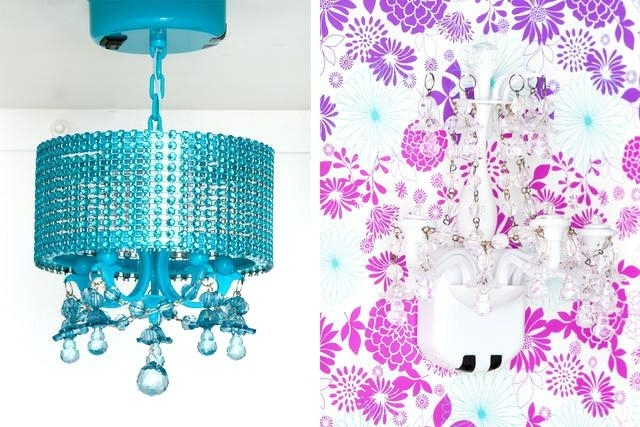 School Locker Chandeliers Glam It Up Girly Container Stories Pertaining To Most Recent Turquoise Locker Chandeliers (View 4 of 10)